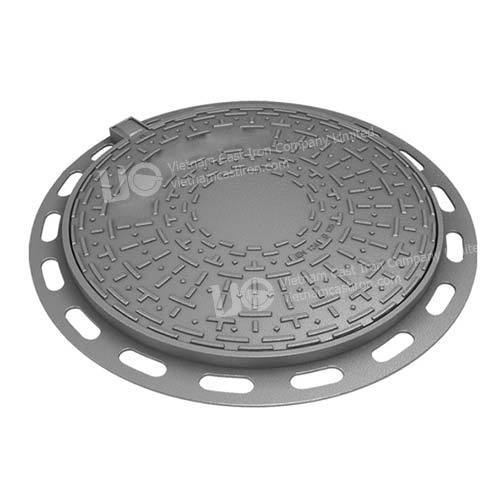 Ductile Iron Round Hinged Manhole cover B125
