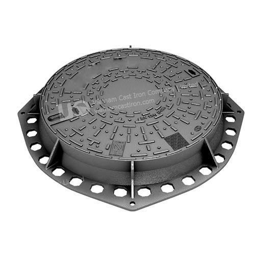 Ductile Iron Round Manhole Cover 850mm E600