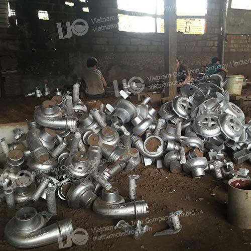 OEM aluminum casting pump parts
