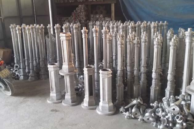 Lamp post Mass production