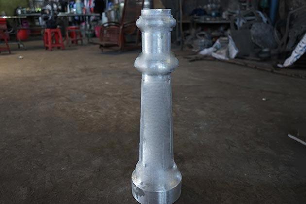 Aluminum Lamppost Part