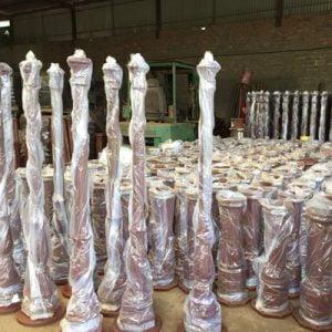 Lamp post project i Netherland