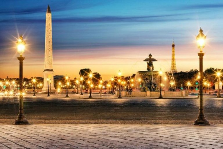 Most beautiful lamppost in Paris, France