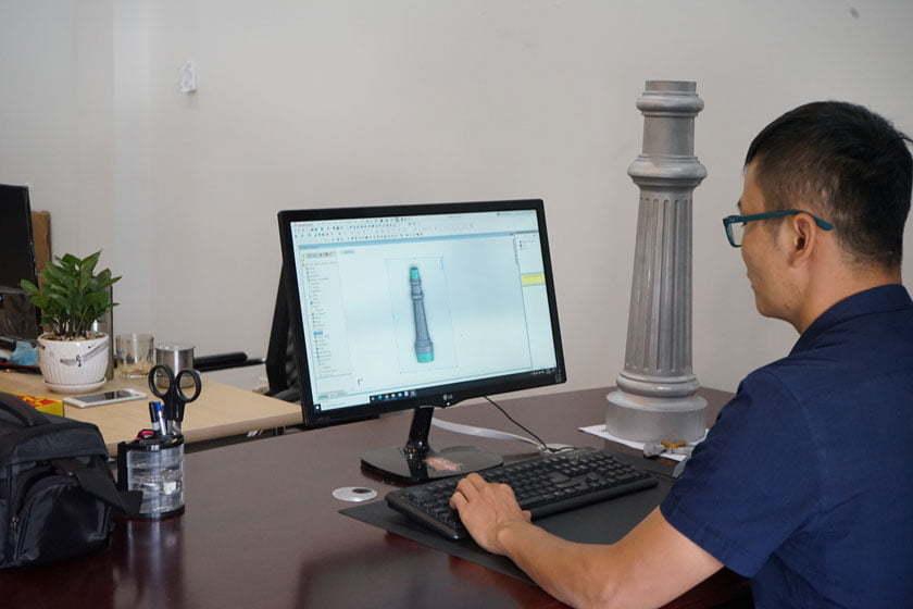 ODM Lamp post manufacturer
