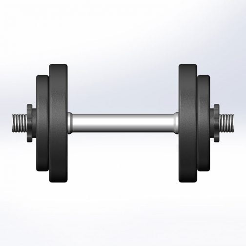 Cast iron Adjustable Dumbbell 5-100lb OEM