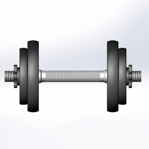 Cast iron Adjustable Dumbbell 5-100lb OEM with Contoured Handle