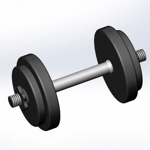 Cast iron Adjustable Dumbbell OEM