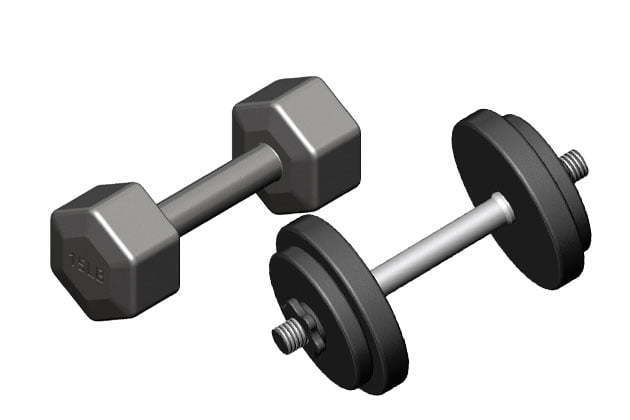 Fixed weight dumbbell vs adjustable dumbbell