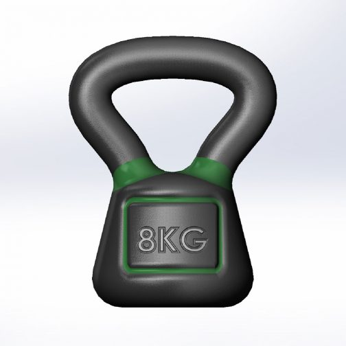 cast iron kettlebells square 5-100lbs