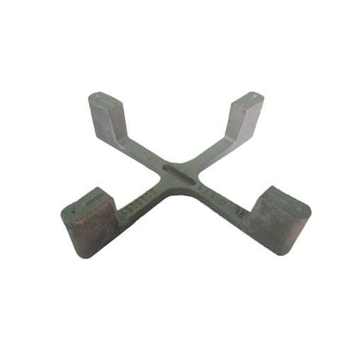 cast iron pan support triple crown