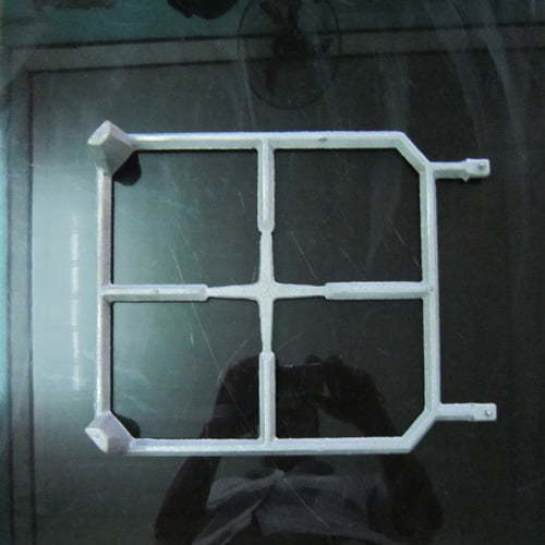 gas cooker hob pan support frame