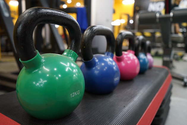 Kettlebell is all in one workout tool