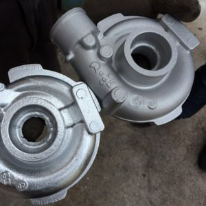 Aluminum pump housing
