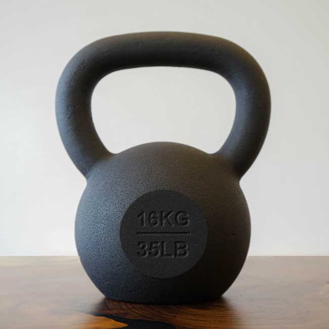Cast iron kettlebell products