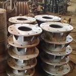 Cast steel flange