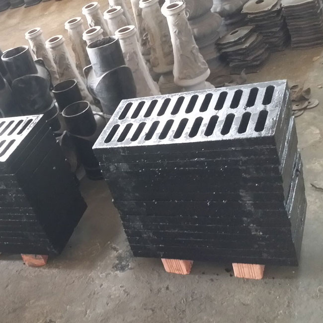 Ductile iron drainage