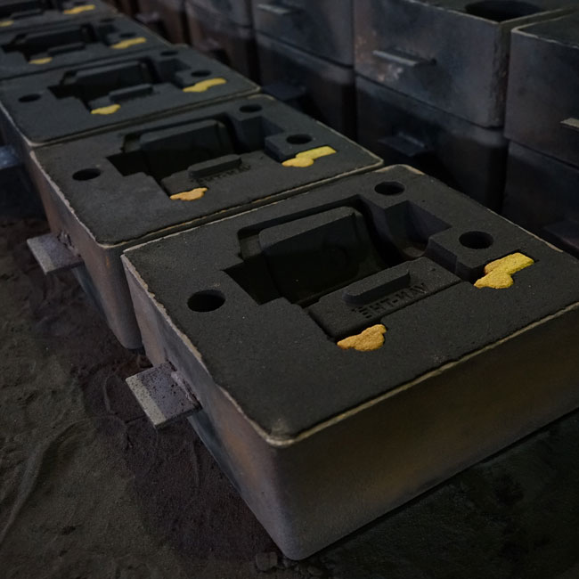 Green sand casting