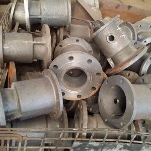 Grey iron casting valves