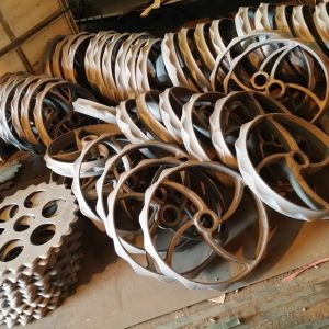 OEM grey iron casting agriculture wheel