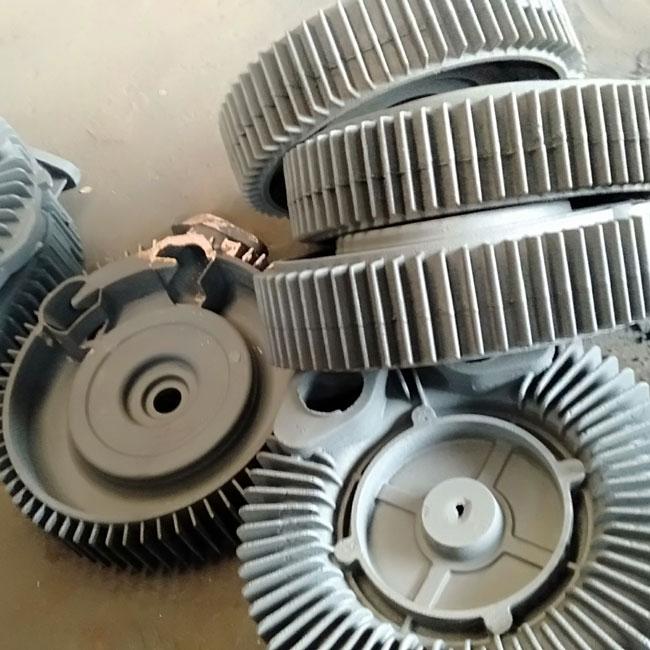 OEM grey iron casting parts