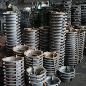 OEM grey iron pan supports