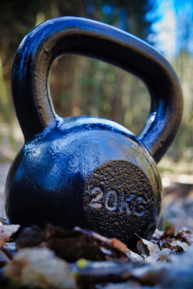 Cheap kettlebell maintains ueven surface finish and cheap painting