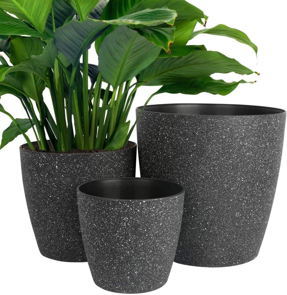 Minimalist Resin Planter