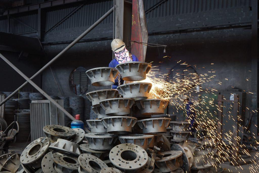 Metal foundry in Vietnam